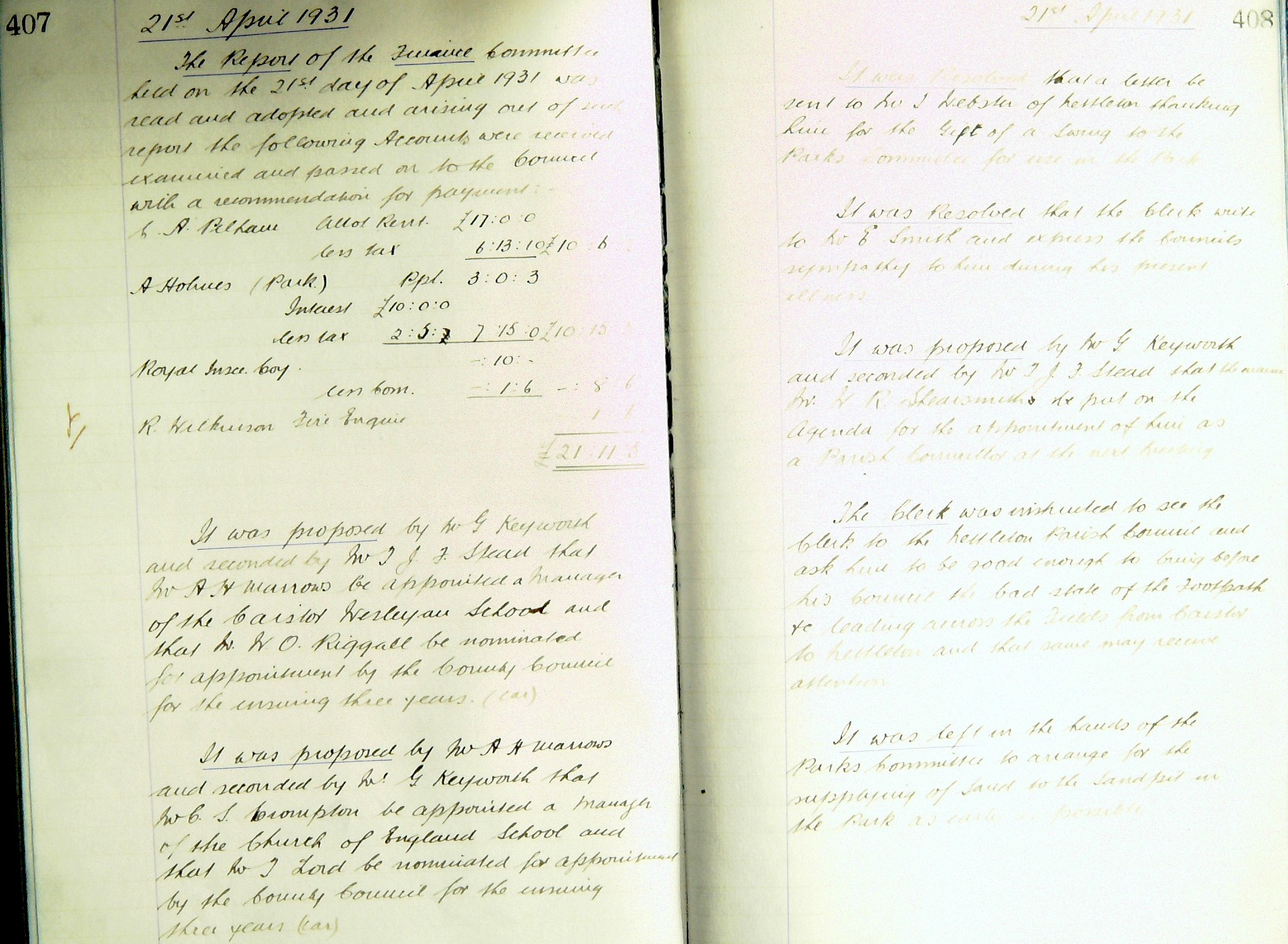 1931 04 21 b Parish Council.jpg