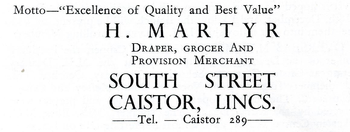 Advert 1956 H Martyr.jpg