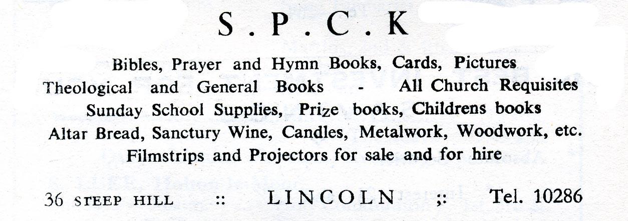 Advert 1957 spck.jpg