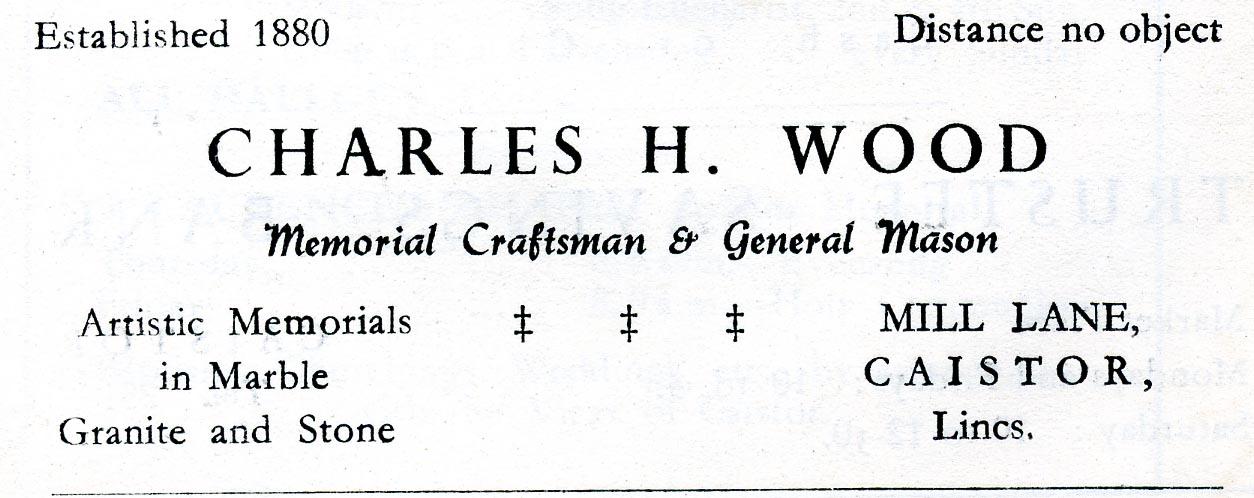 Advert 1957 Wood.jpg
