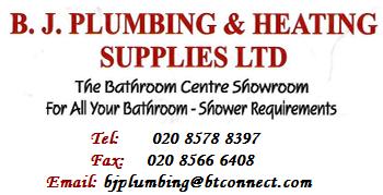 B & J Plumbing & Heating Supplies, Greenford
