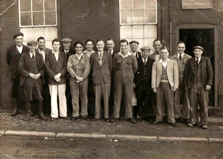 British Legion Members outside the Church Street Room.jpg