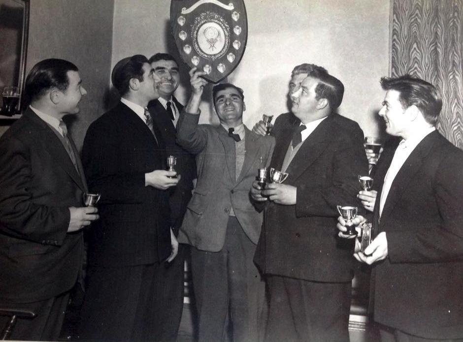C1950s British Legion Darts Team.jpg