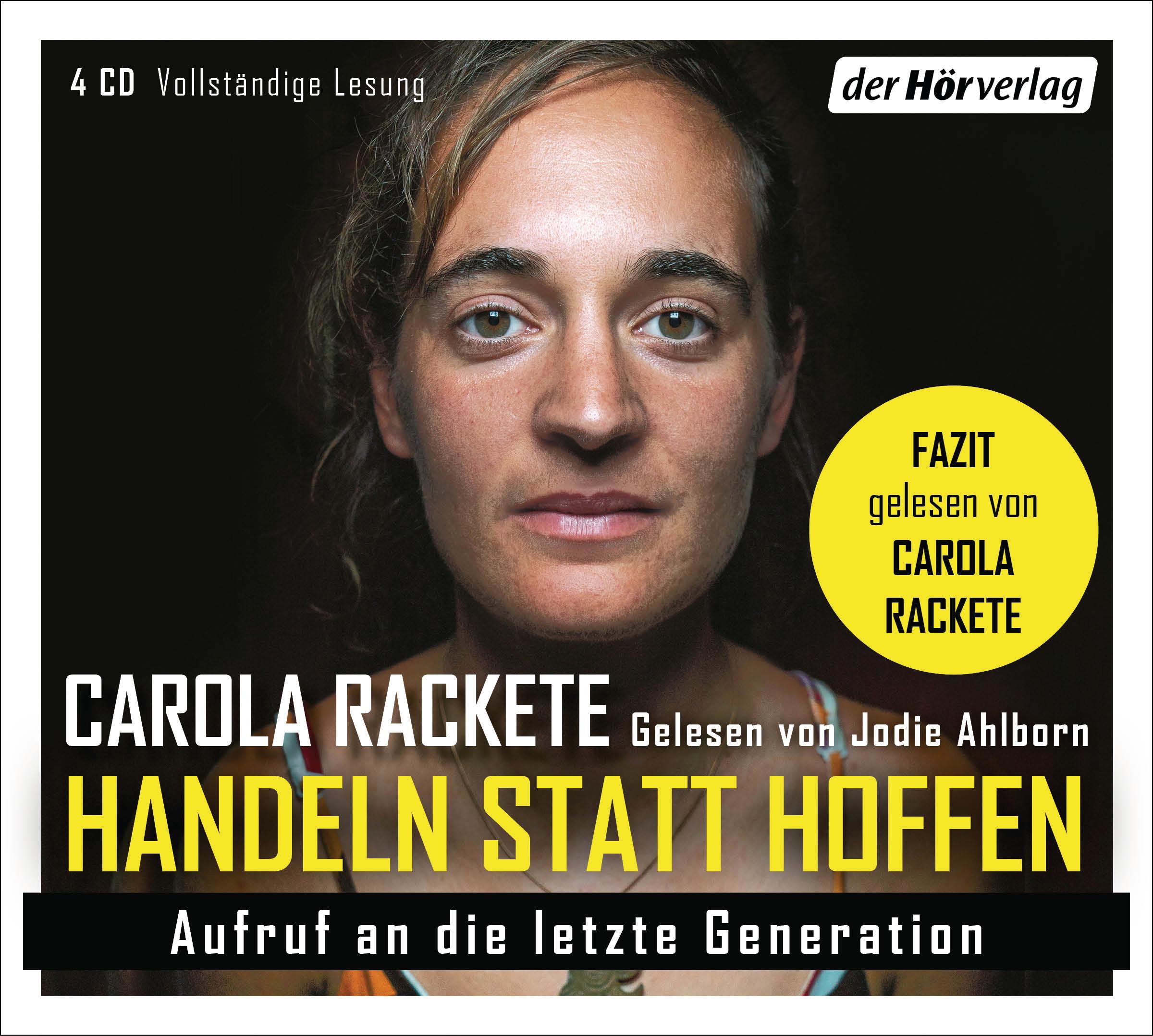 """""""Handeln statt Hoffen"""" von Carola Rackete"""