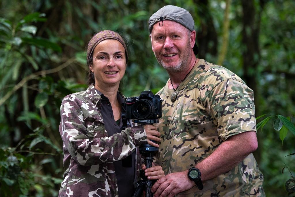 Naturfotograf Dieter Schonlau und seine Frau