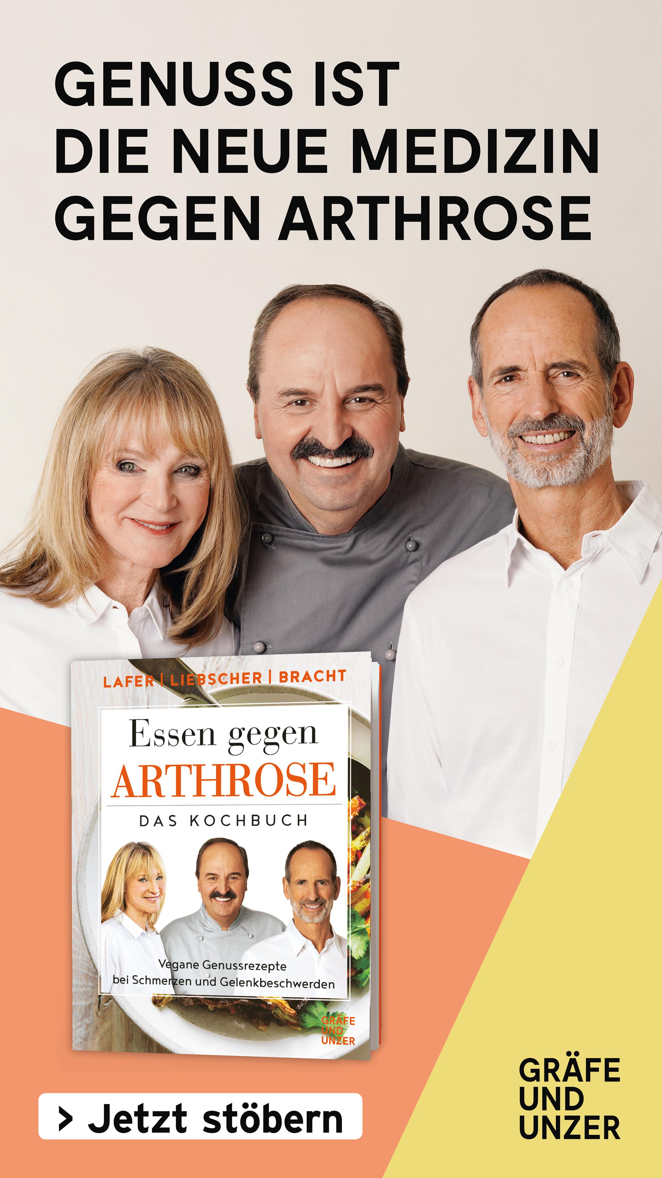 """Das Buch """"Essen gegen Arthrose"""""""
