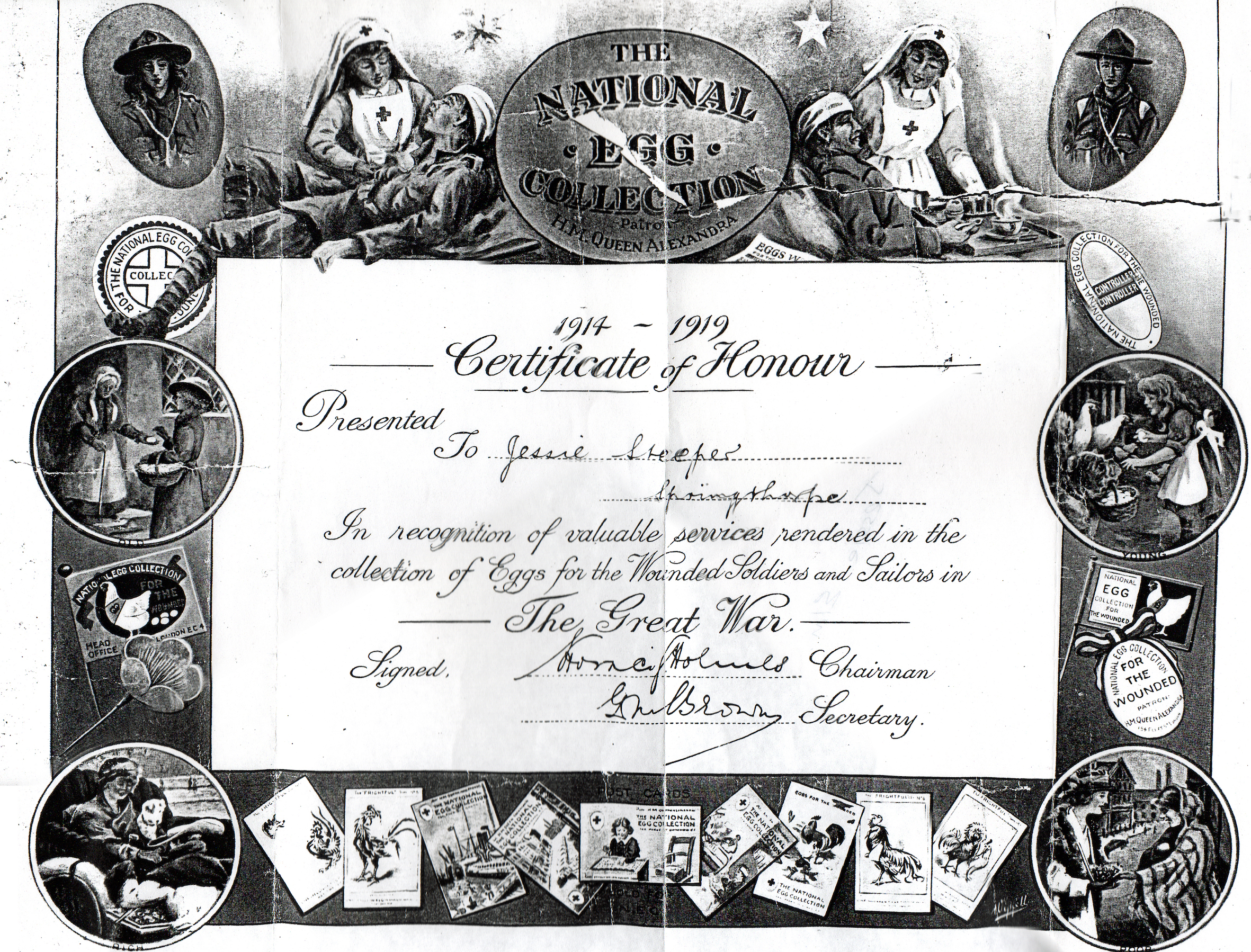1919 Cert of Honour Steeper.jpeg