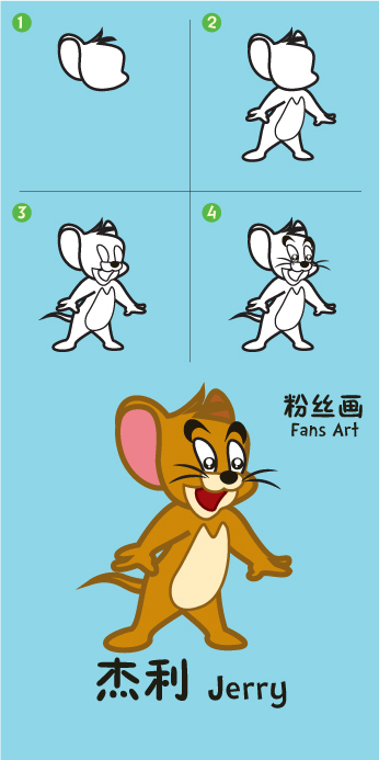 杰利 Jerry ( Tom and Jerry )