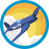 Axis and Allies Badge Icon