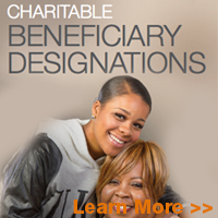 Beneficiary Desingations-an easy way to make a BIG difference. Learn more