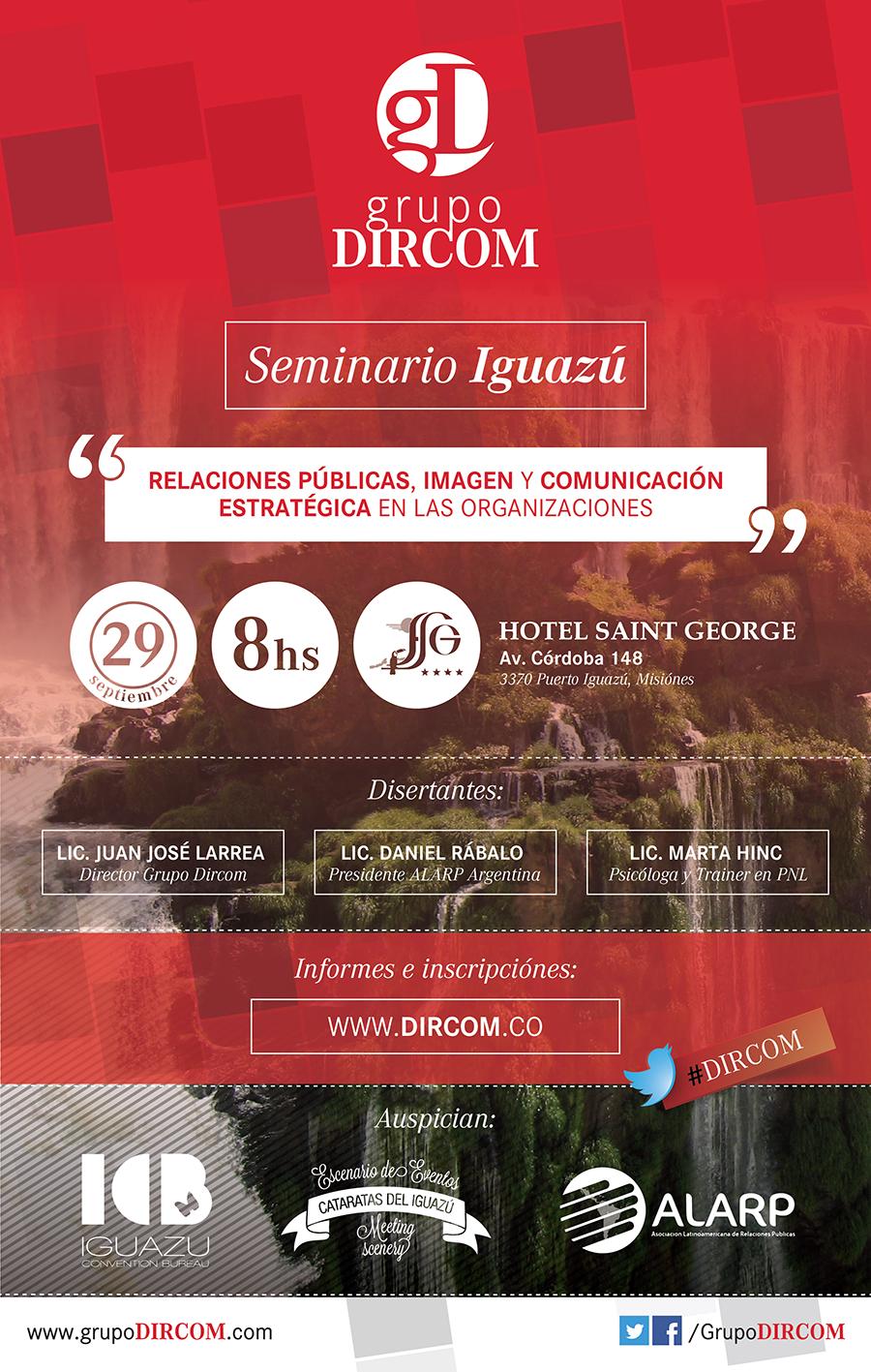 Seminario en Cataratas de Iguazú DIRCOM