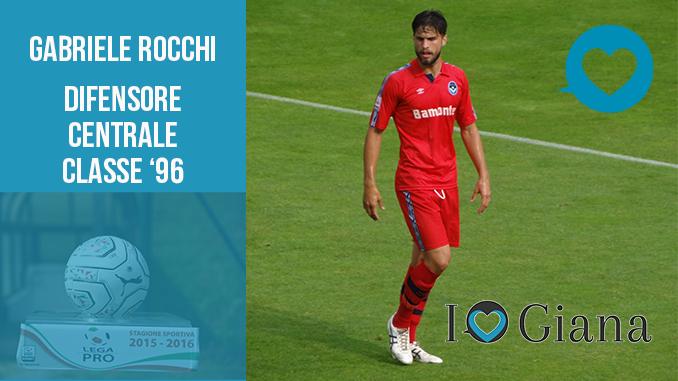 Gabriele Rocchi difensore Giana Erminio Lega Pro