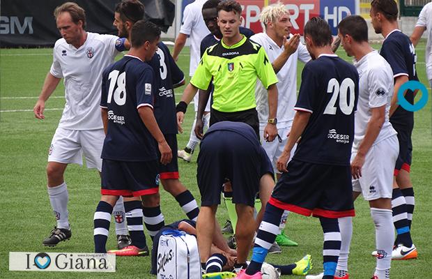 www.ilovegiana.it Pro Vercelli Giana Erminio 0-0 amichevole calcio a vercelli