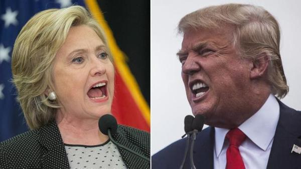 ខ្លាំងប៉ះខ្លាំង លោកស្រី Clinton និងលោក Trump ប៉ះទង្គិចគ្នាហើយ សង្គ្រាមពាក្យសម្តីផ្ទុះឡើង