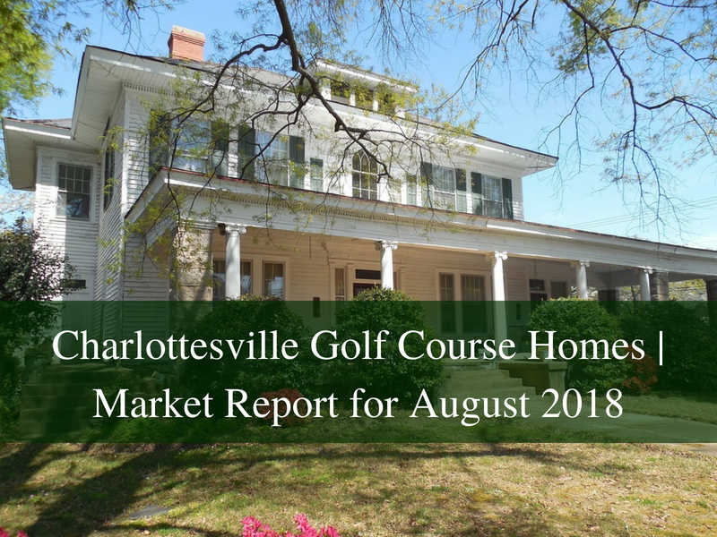 Golf Course homes for sale in Charlottesville VA