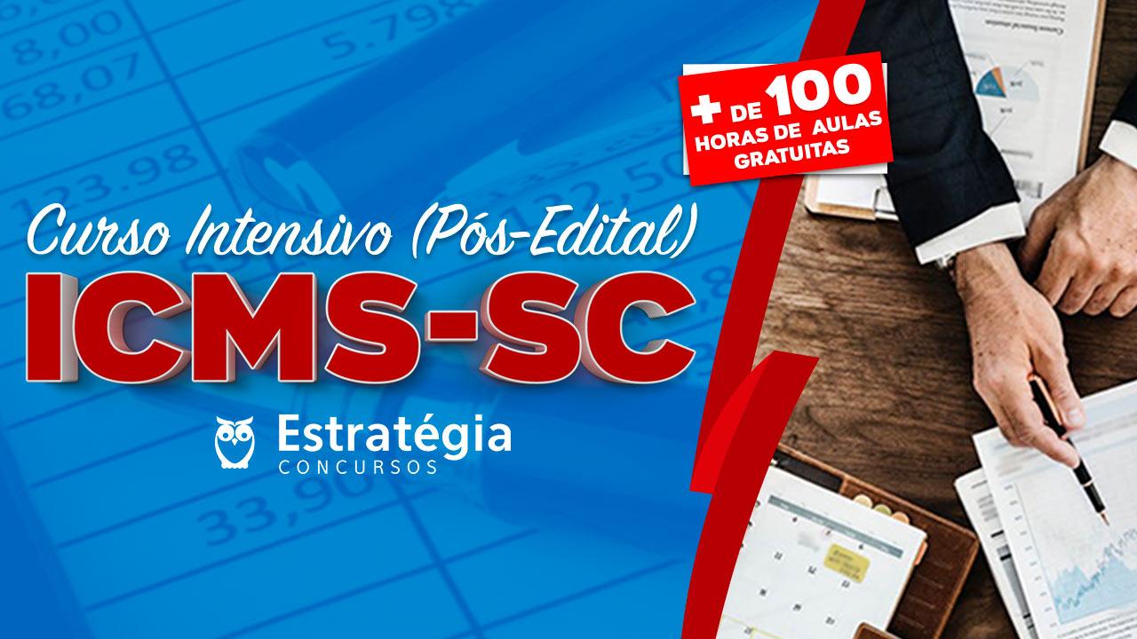 Curso Intensivo ICMS-SC
