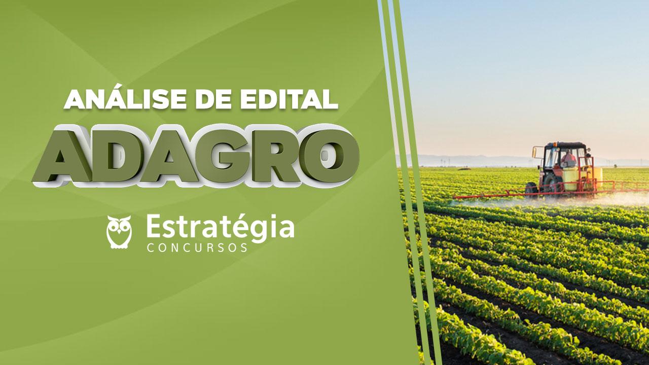 Análise de Edital ADAGRO