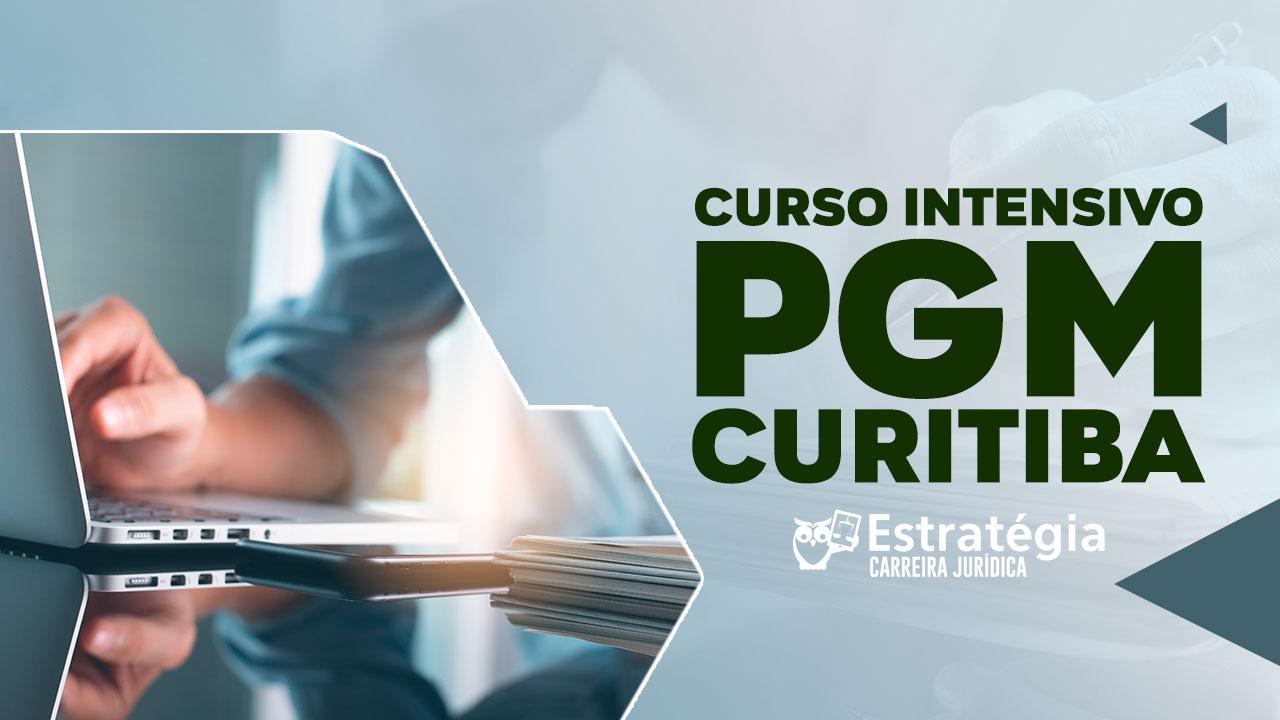 Cursos Intensivo PGM-Curitiba