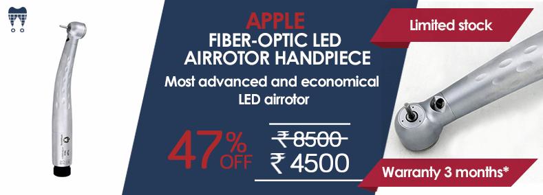 APPLE FIBER-OPTIC LED AIRROTOR HANDPIECE