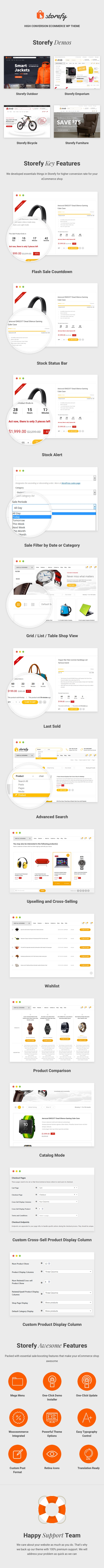 Storefy - High Conversion eCommerce WordPress Theme