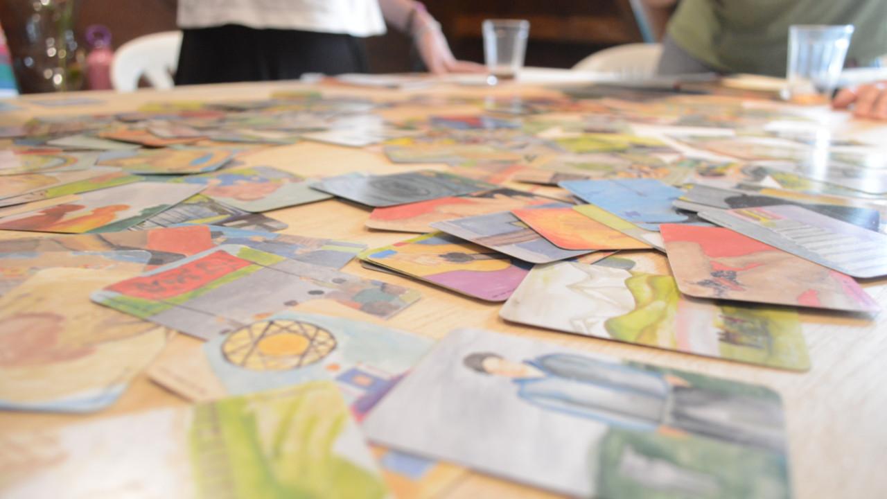 cartas jogos criativos colaborativo