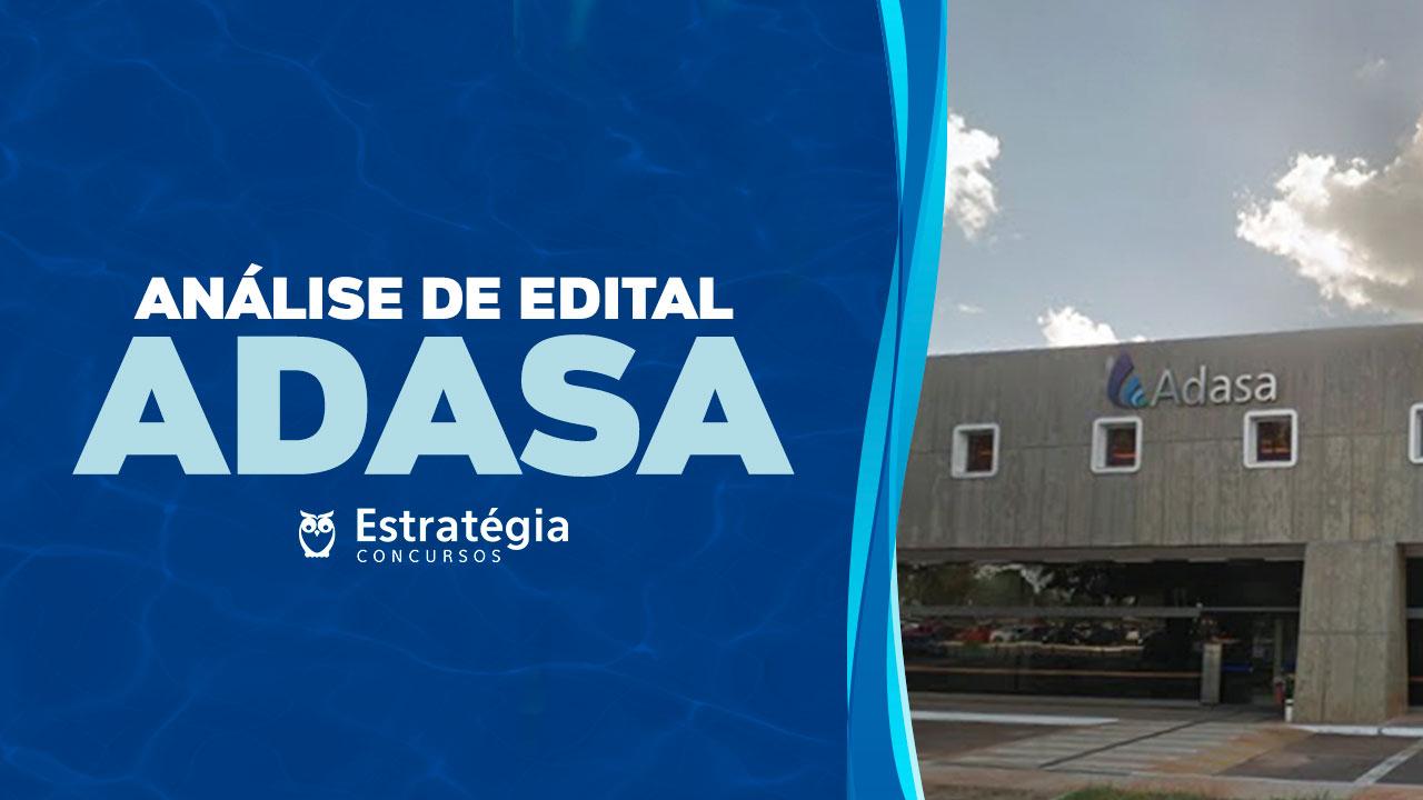 Análise de Edital ADASA