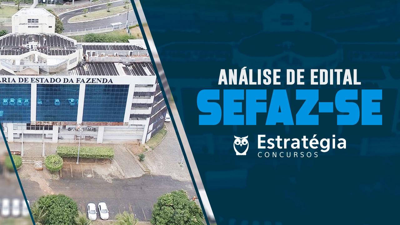 Análise de Edital SEFAZ-SE