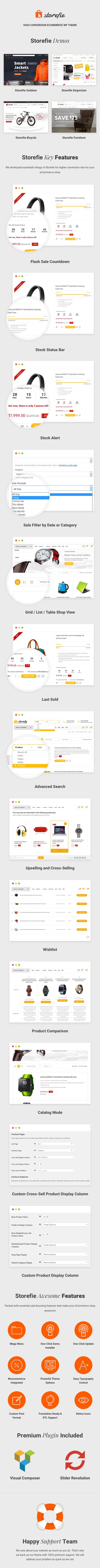 Storefie - High Conversion eCommerce WordPress Theme - 1