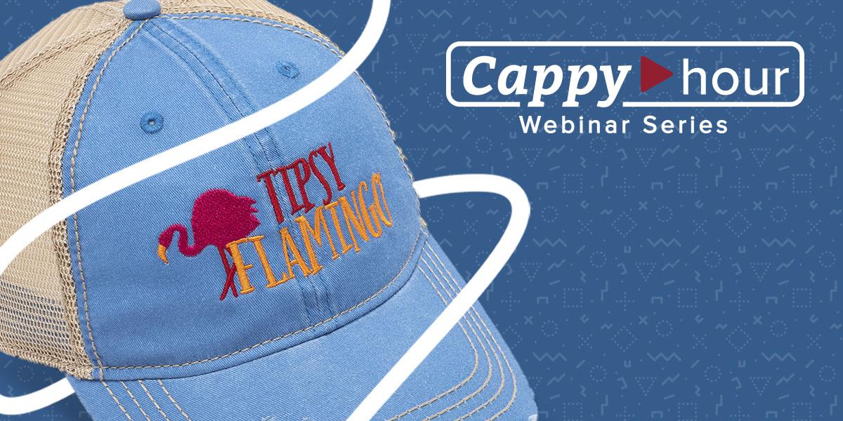 Cappy Hour Webinar Series from Outdoor Cap