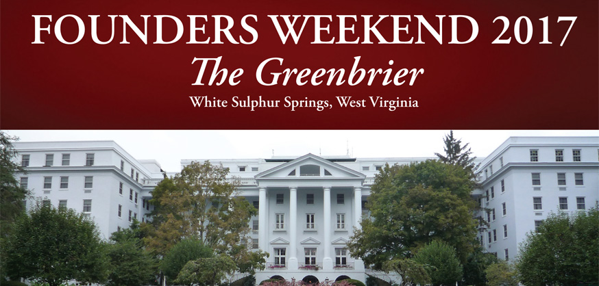 Founders Weekend at The Greenbrier @ The Greenbrier | White Sulphur Springs | West Virginia | United States