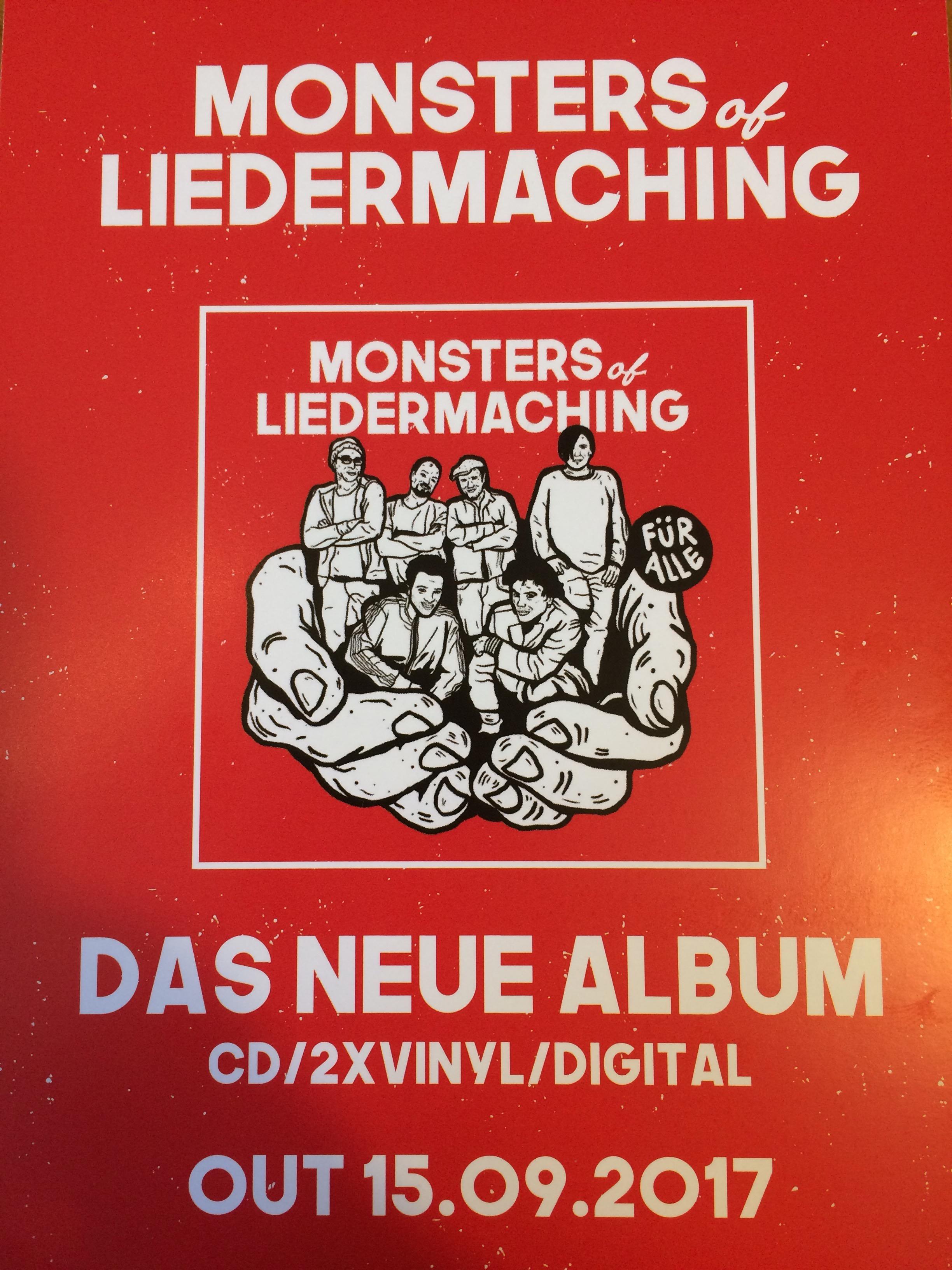 """CD: Monsters of Liedermaching """"Für Alle"""""""