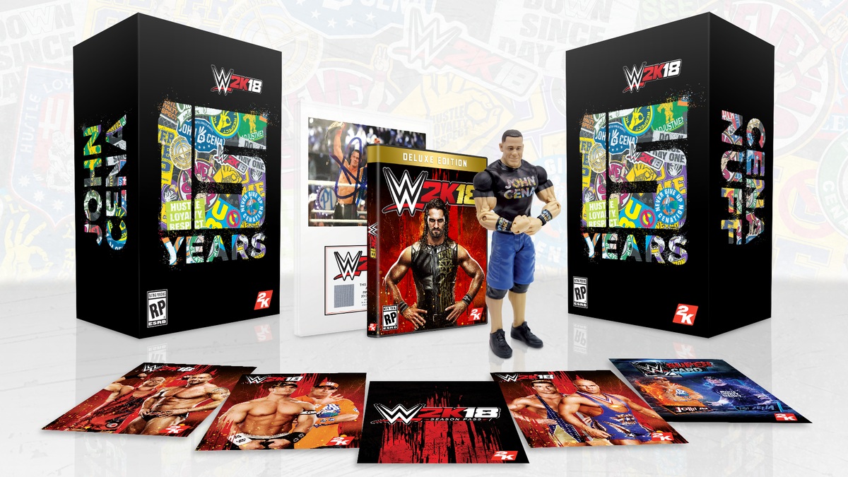 WWE 2K18 Cena Nuff Edition Announced