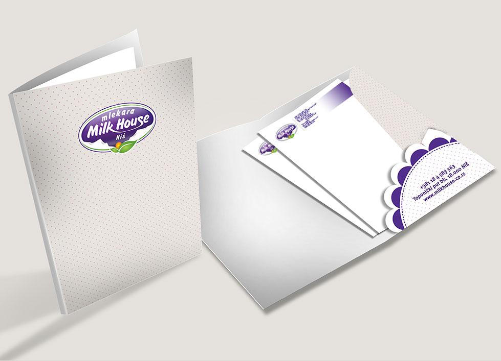 milk house branding