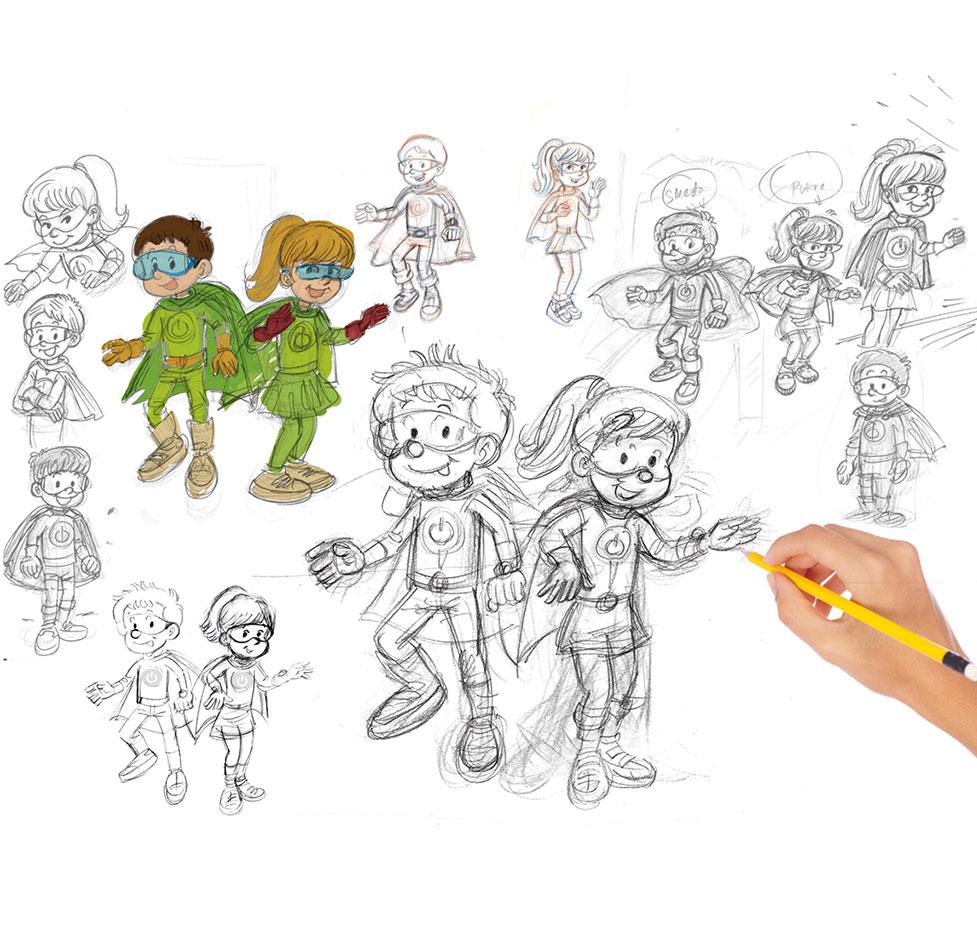 e-reciklaza ilustracije 2