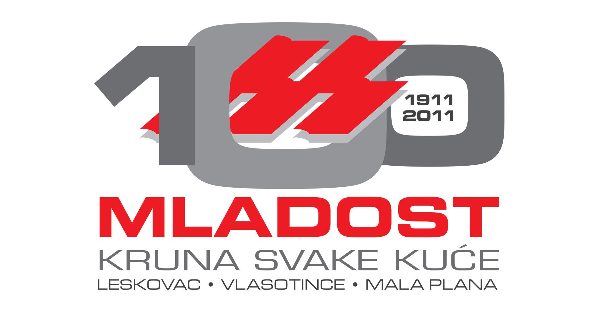 mladost jubilarni logo