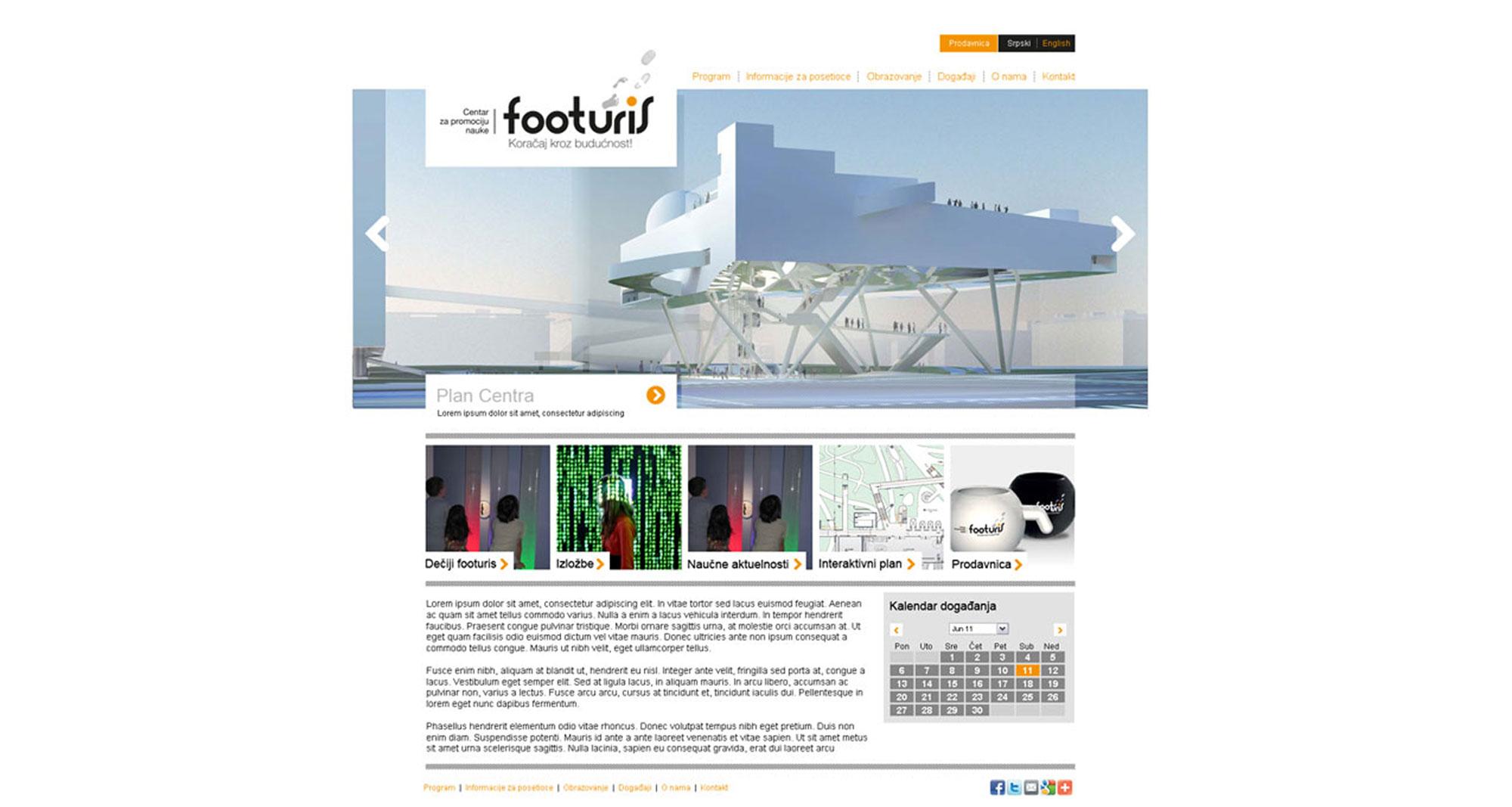 footuris website
