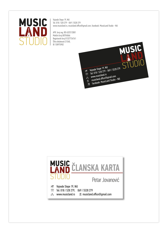 music land stationary 1