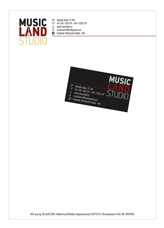 music land stationary 2