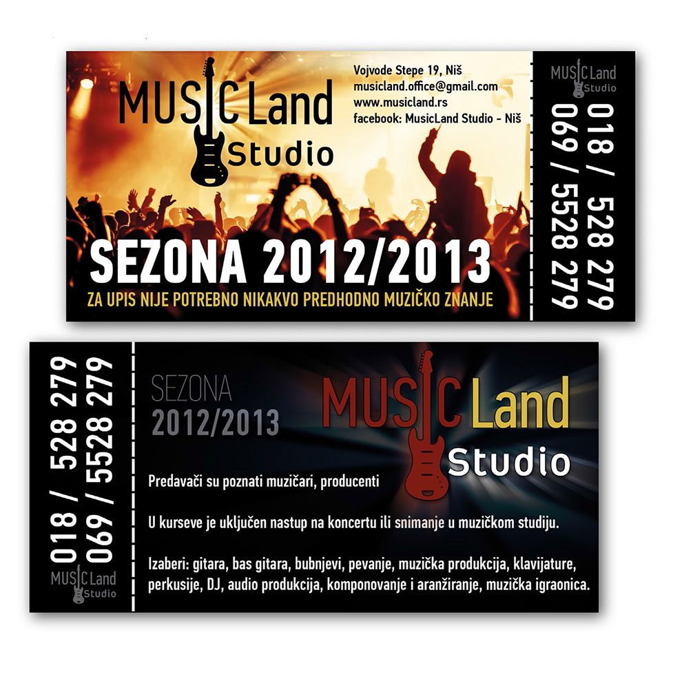 music land flajer 2