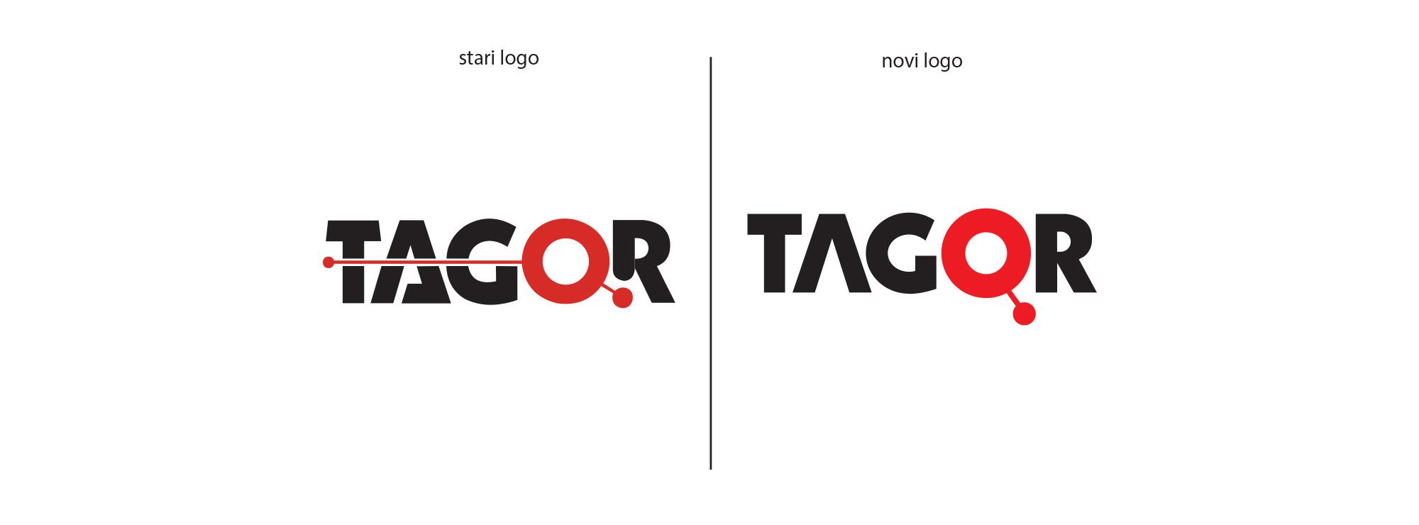 tagor logo redesign