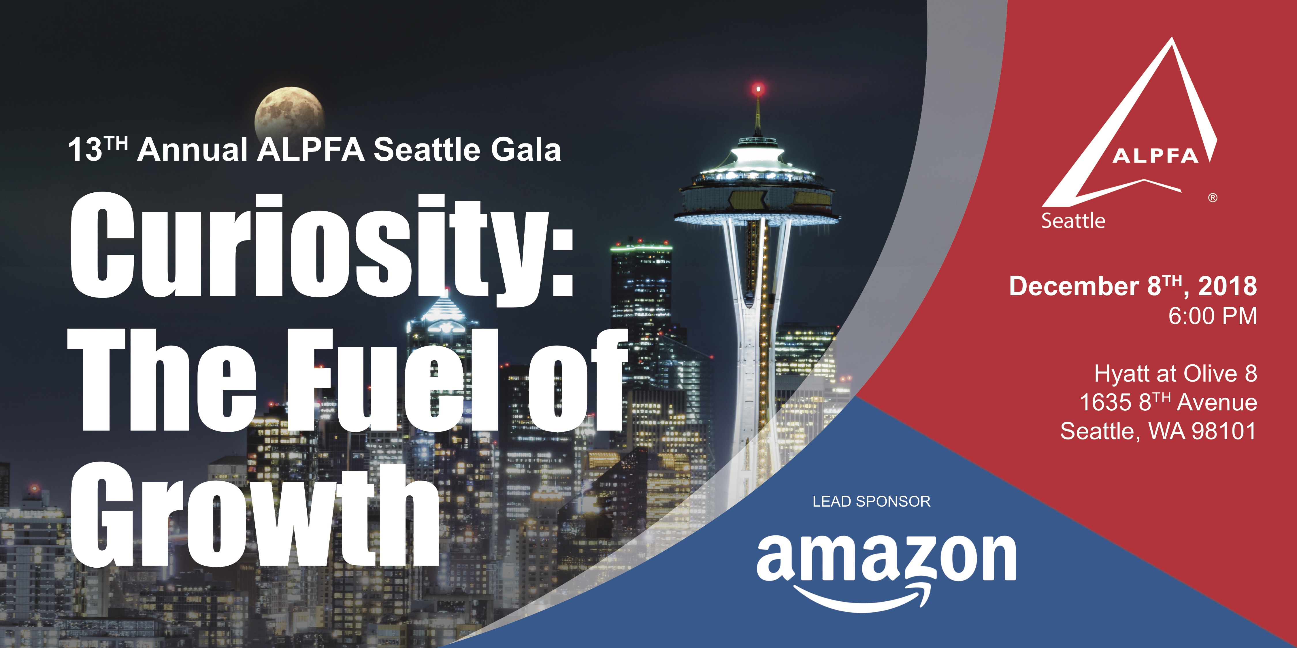 13th Annual ALPFA Seattle Gala Banner