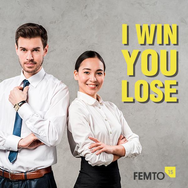 I win you lose