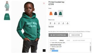 H&M sweatshirt sparks racism controversy