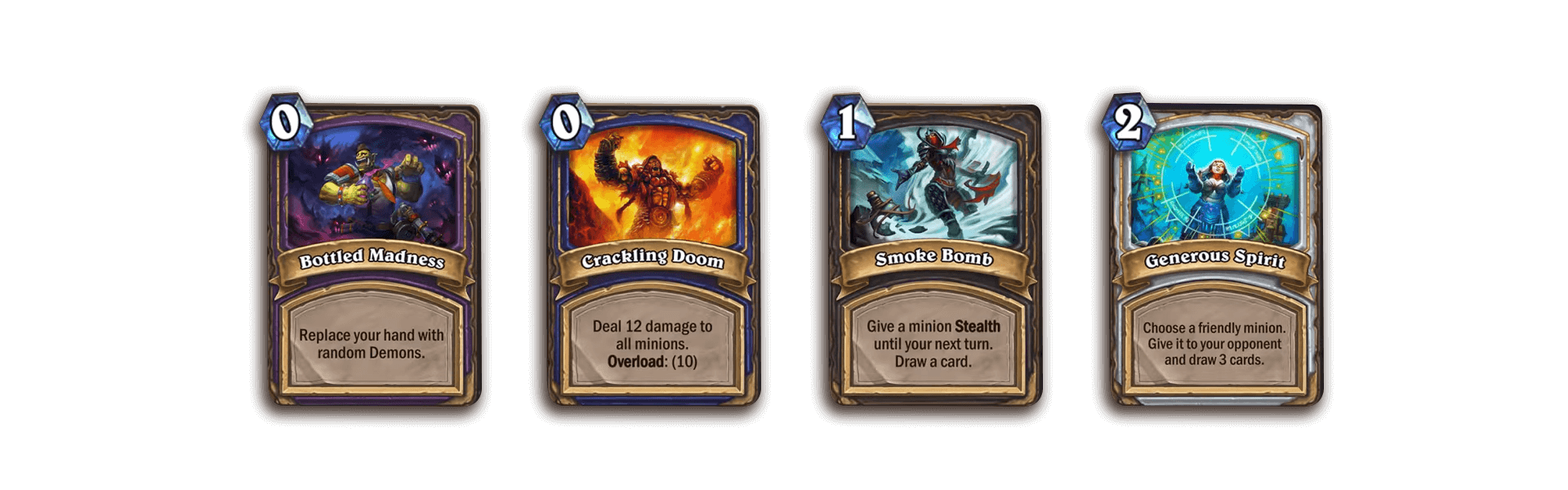 The nine new Hearthstone cards analysed