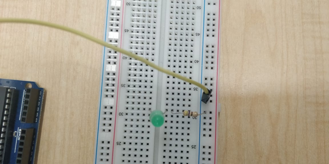 Image 12 - closeup of breadboard after connections