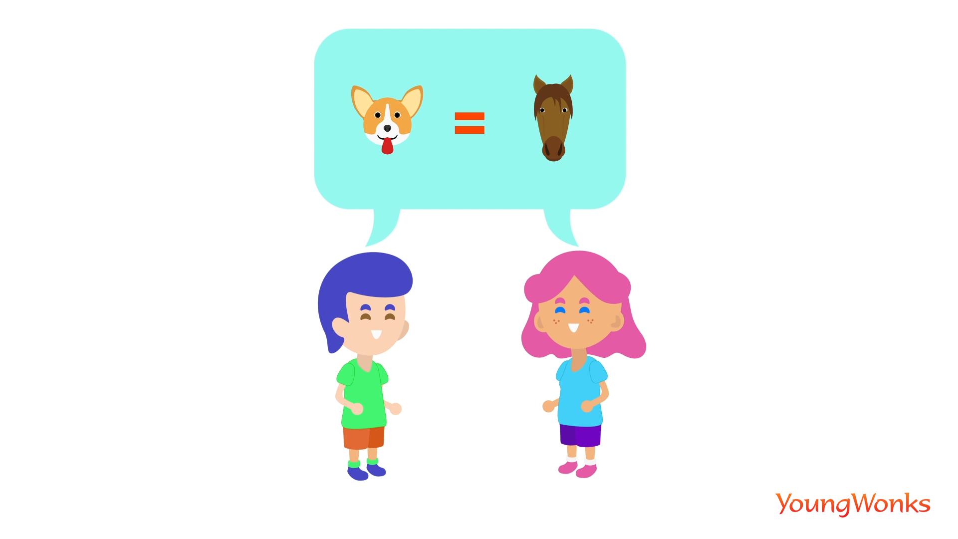 DOG = HORSE