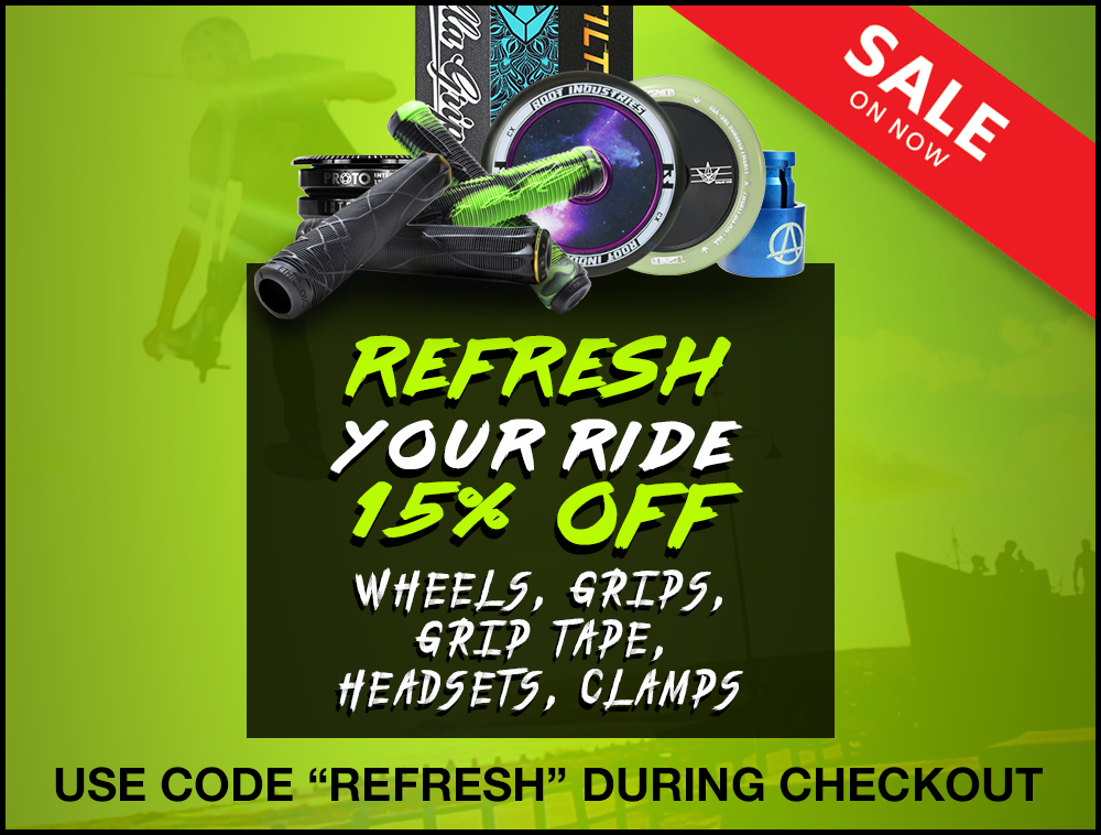 scooter parts 15% sale Promo