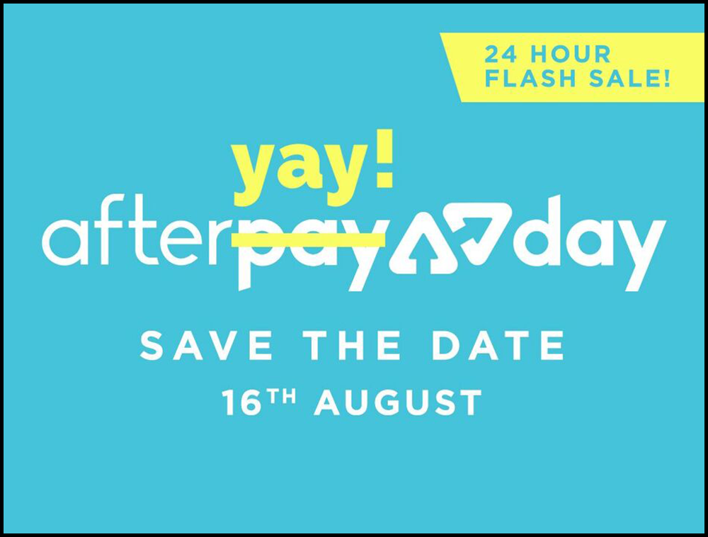 Afteryay day sale Promo
