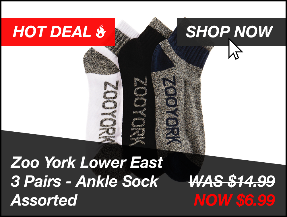 Zoo York Socks Promo