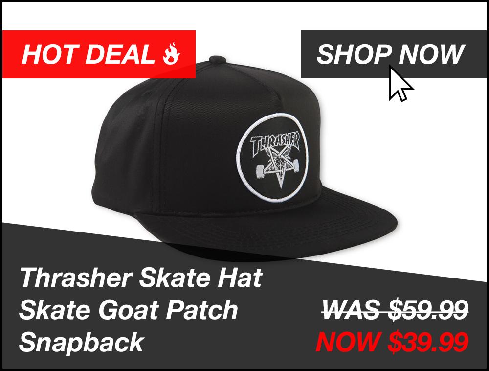 Thrasher Hat Promo